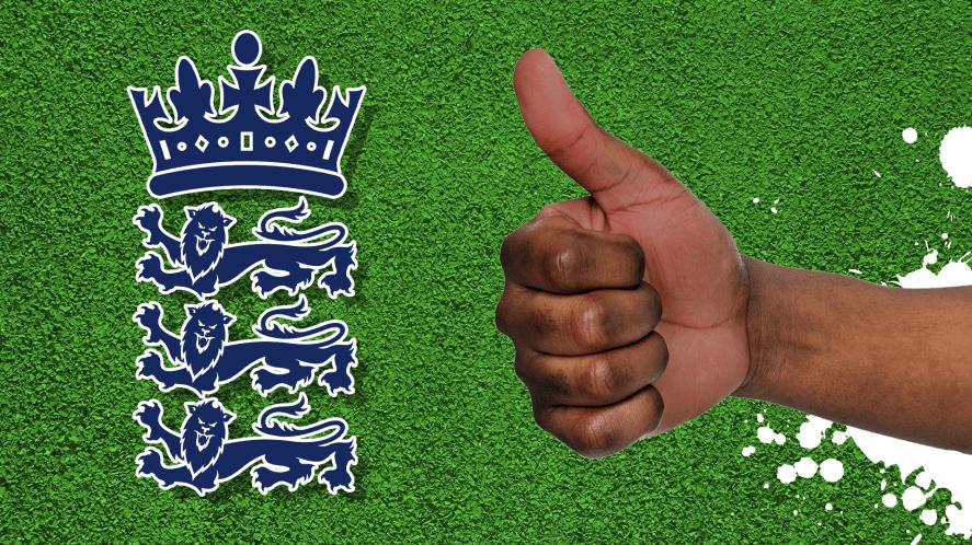 The England cricket badge