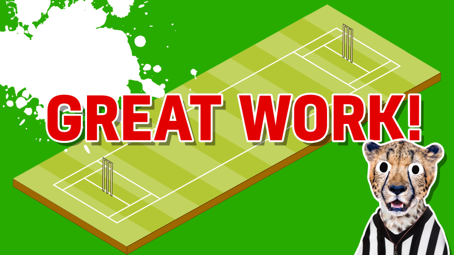 Result: Great work