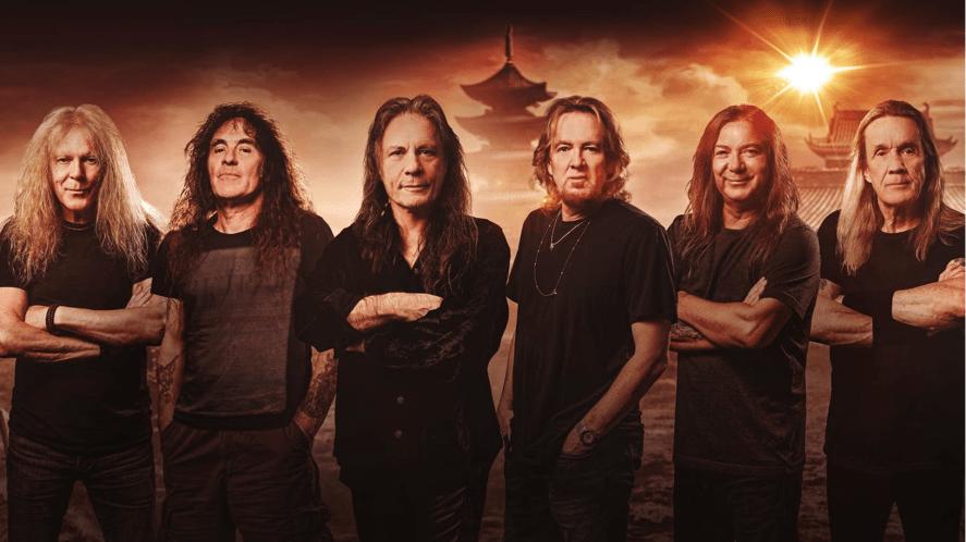 The British rock band Iron Maiden