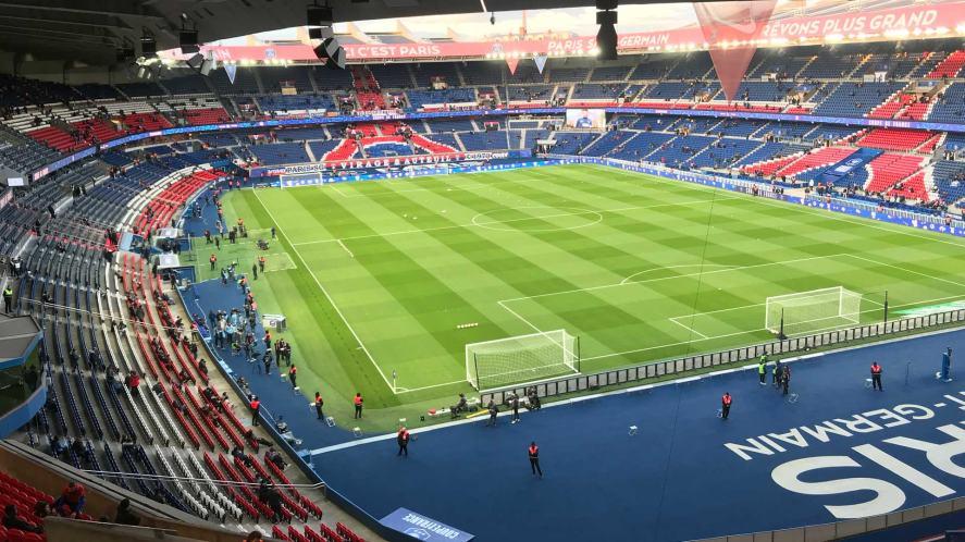 Paris St Germain's stadium