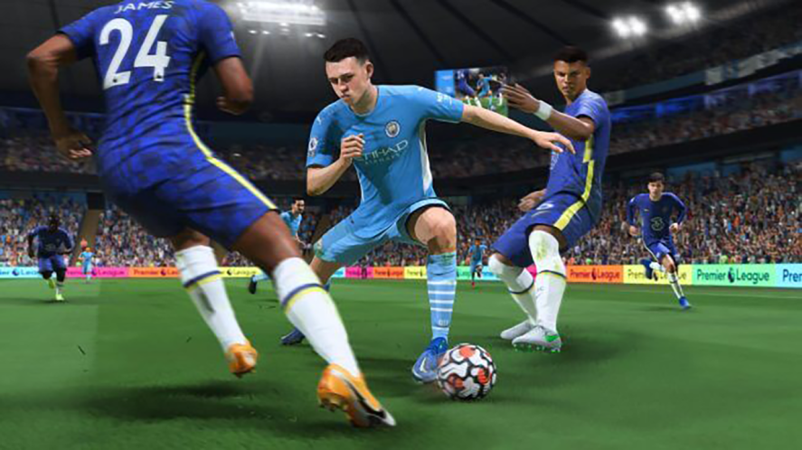 A Manchester City player featured in FIFA 22