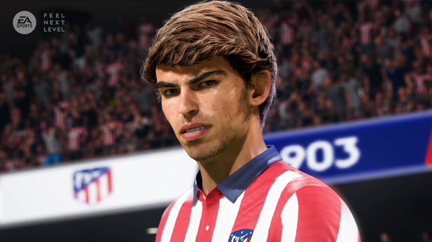An Atletico Madrid player