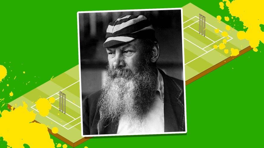 The cricketer WG Grace