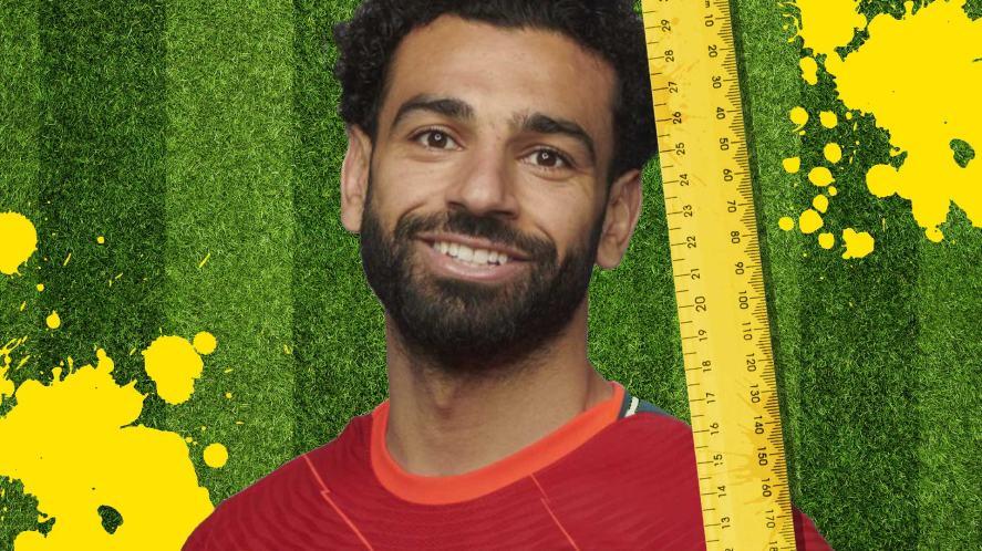 Liverpool FC quiz Mo Salah height