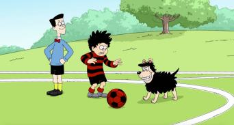 Dennis The Menace and Gnasher in No Match For Dennis