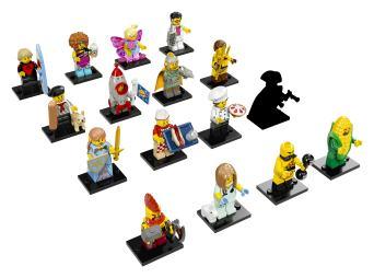 Lego minifigs series 17