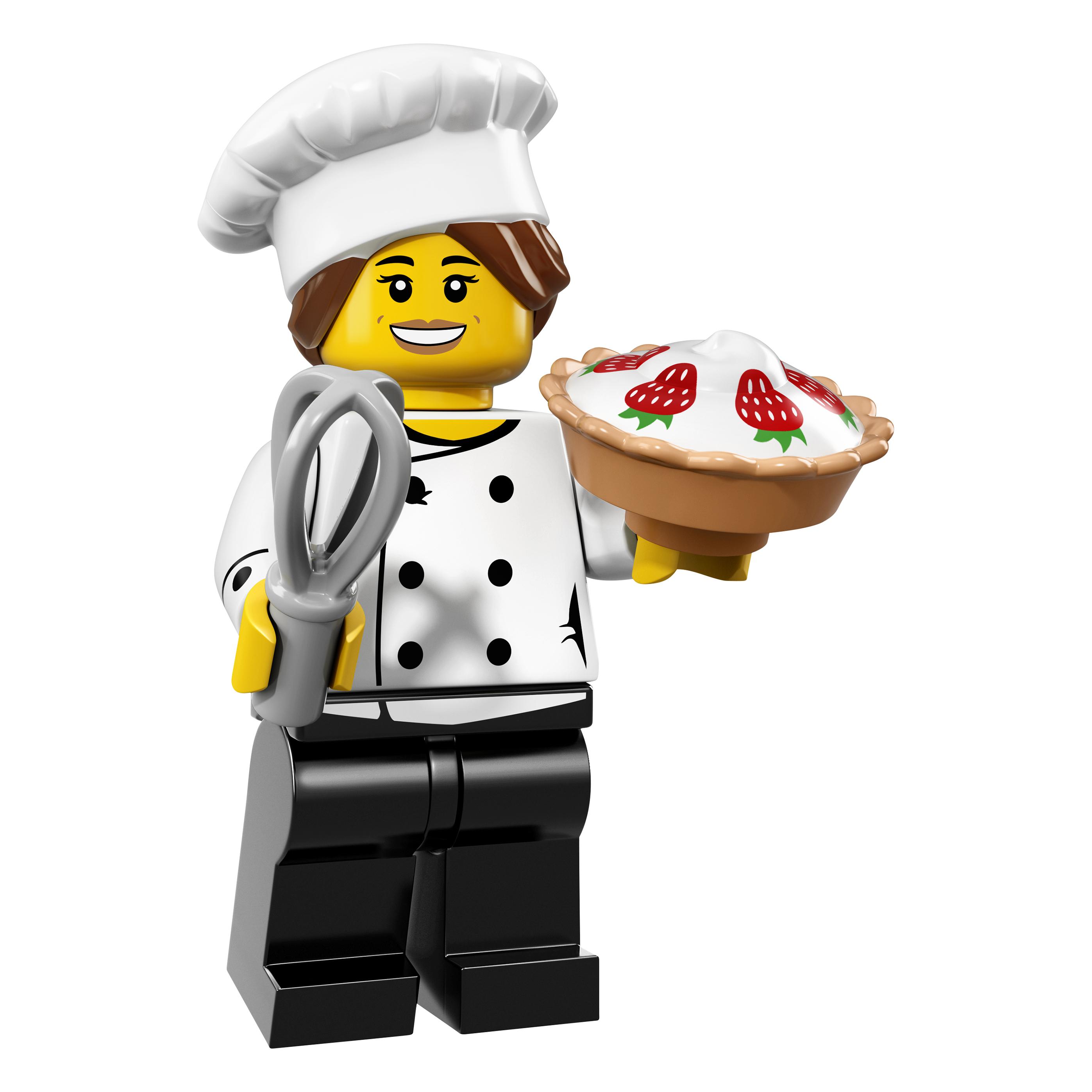 LEGO minifgs series 17 Gourmet Chef