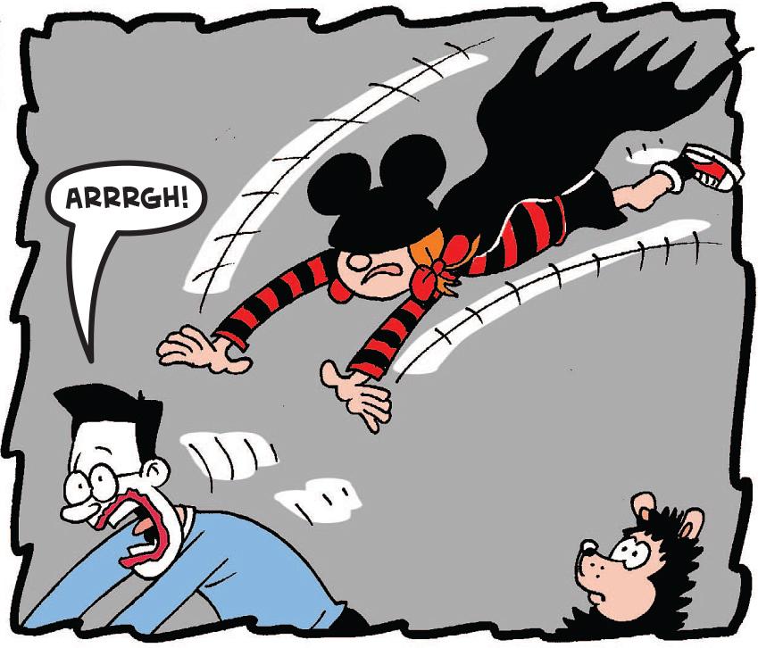 Batmin attacks Walter
