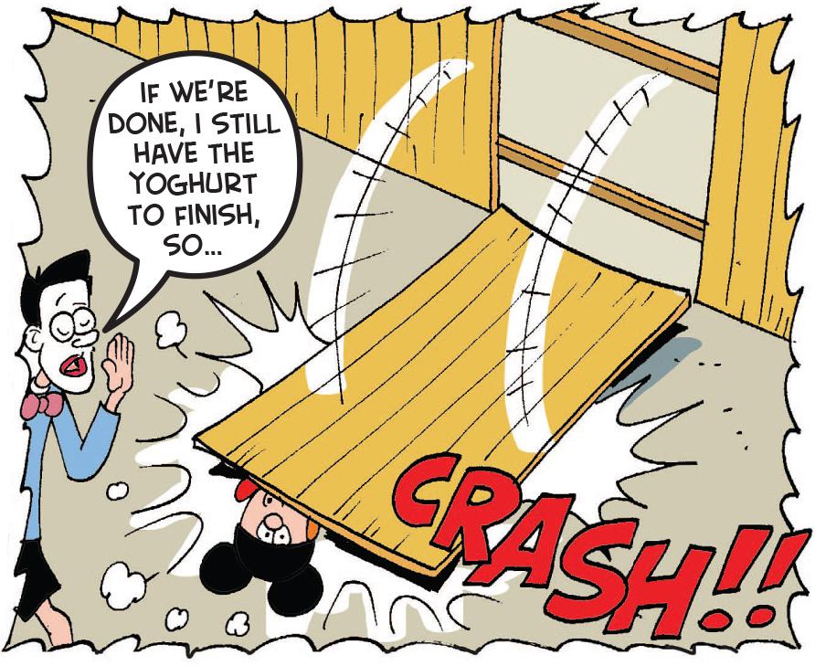 Batmin tries to escape
