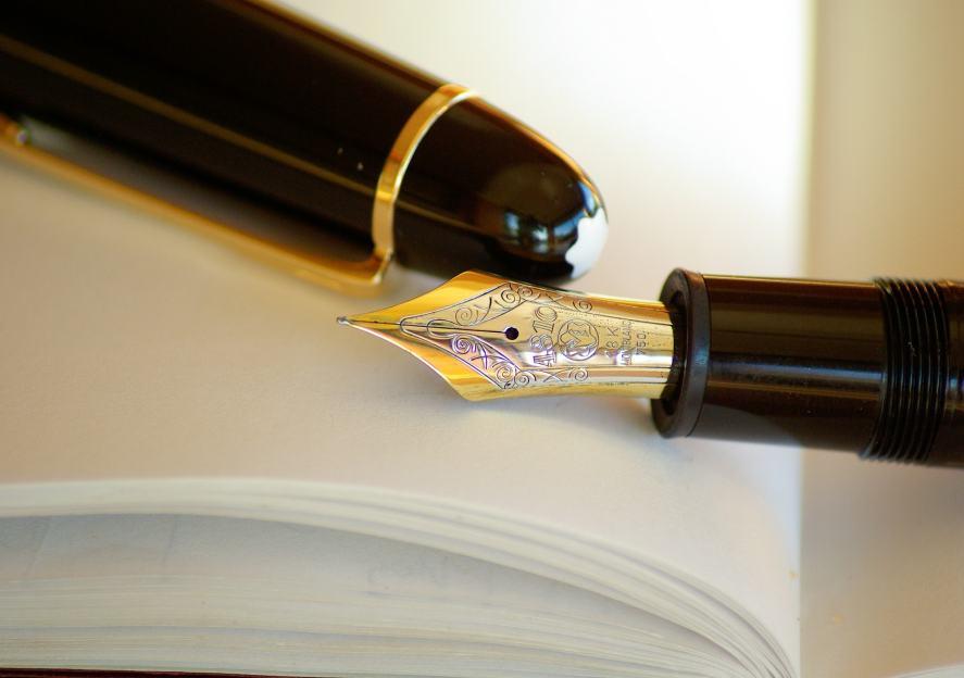 A fancy pen