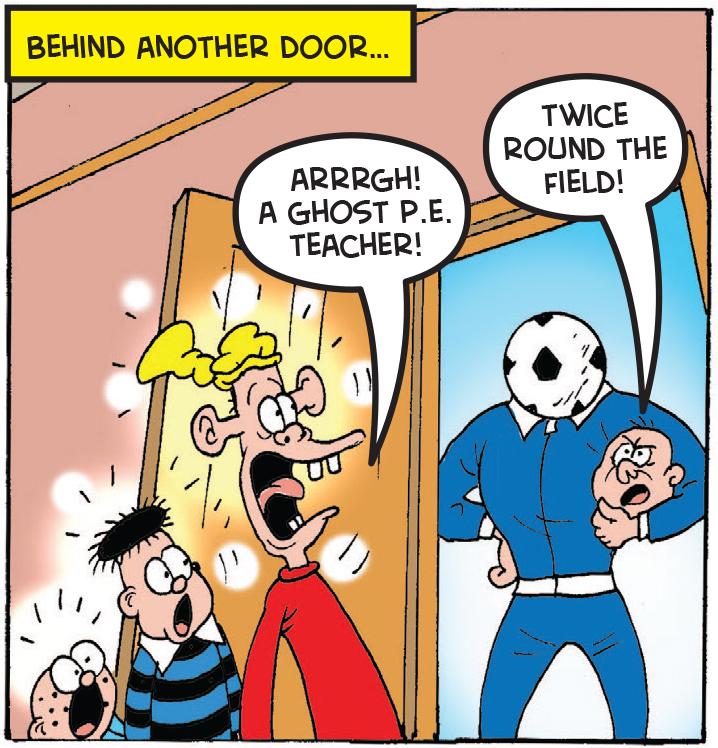 Plug tries to escape through a door