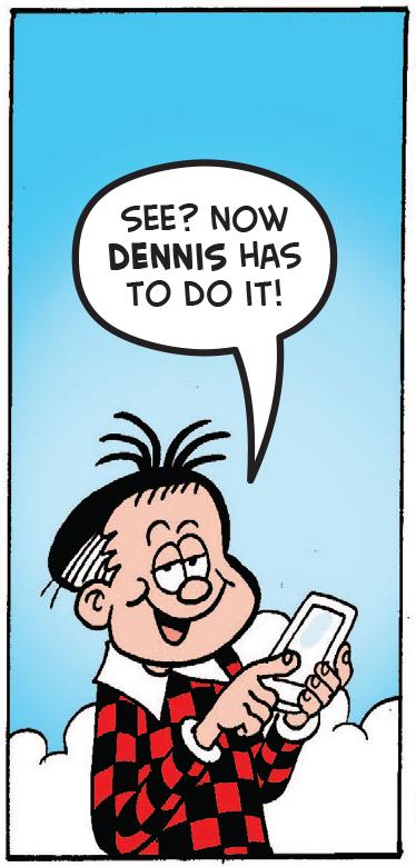 Roger calls Dennis