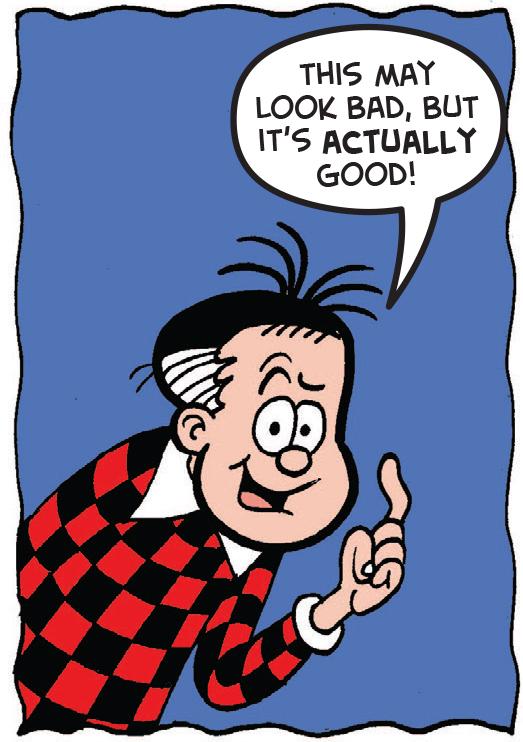 Roger is optimistic