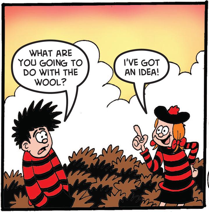 Dennis and Minnie talk
