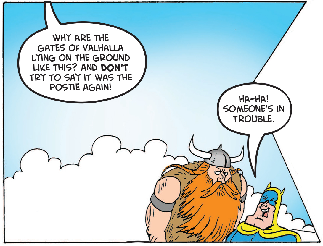 Thor's dad calls him