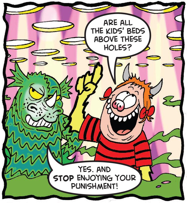 Minnie must frighten some kids