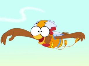 Marvo The Wonder Chicken in Rooster Booster