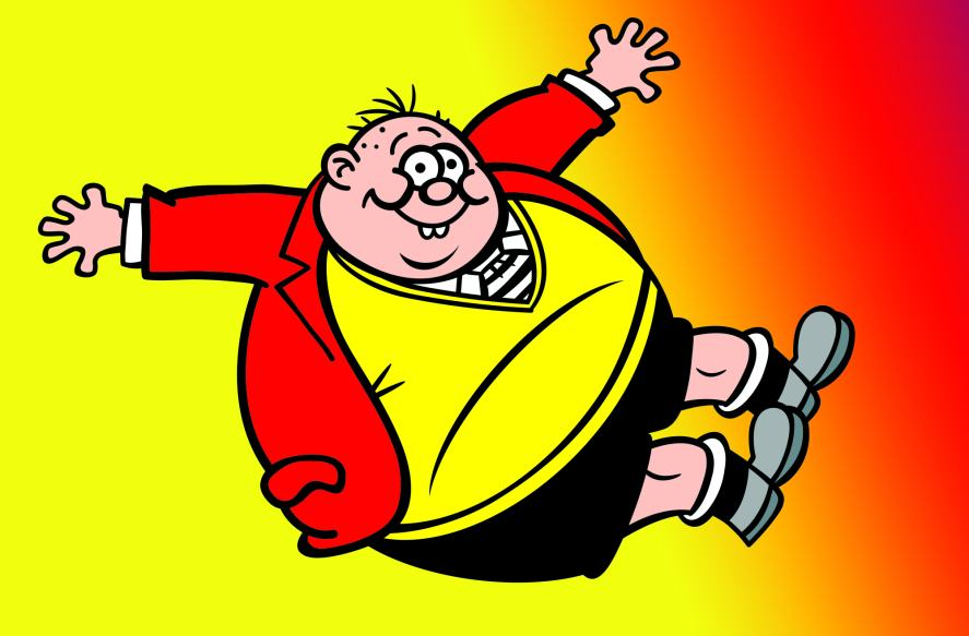 Fatty from the Bash Street Kids
