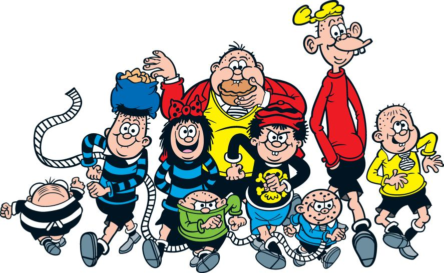 The Bash Street Kids are ready to make mischief
