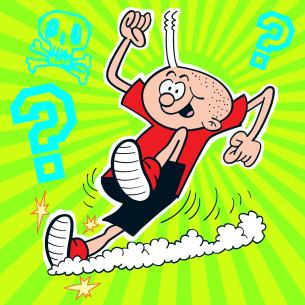 Billy Whizz, The World's Fastest Boy - from Beano