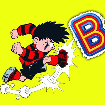 Dennis the Menace Beano Football