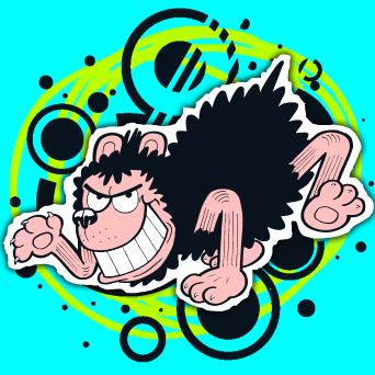 Gnasher from Beano - Dennis the Menace