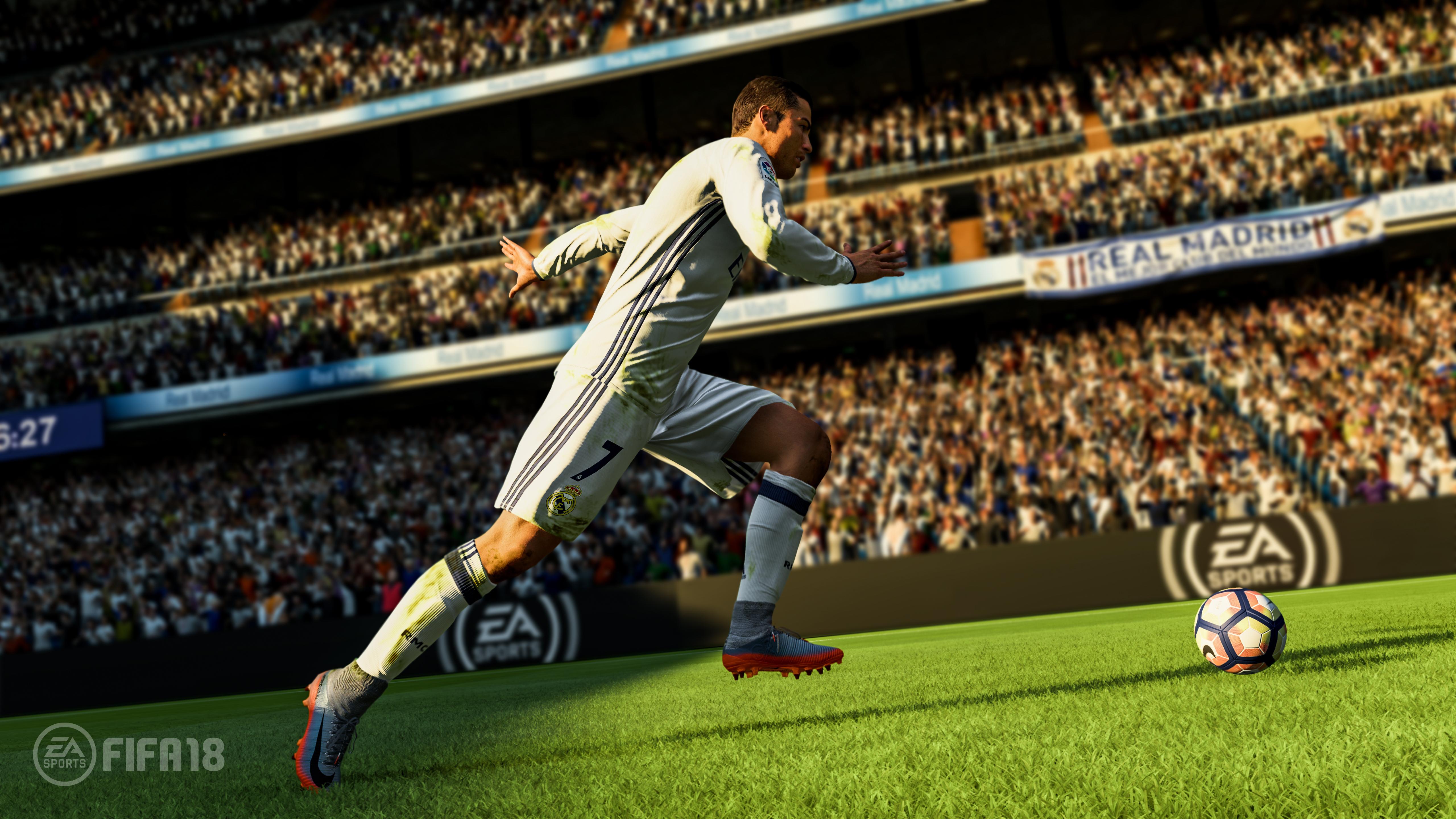 Cristiano Ronaldo in FIFA 18