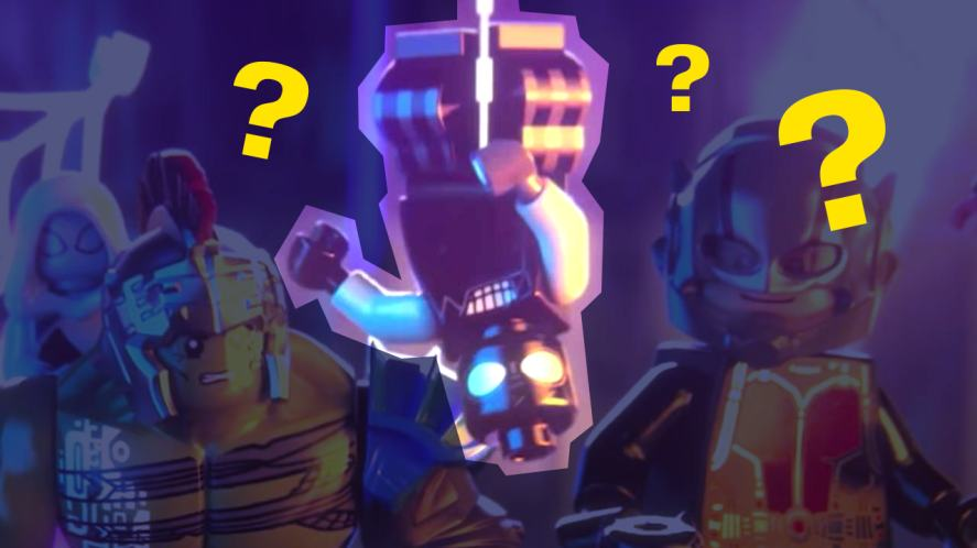 A mystery Spider-man from Lego Marvel Superheroes 2