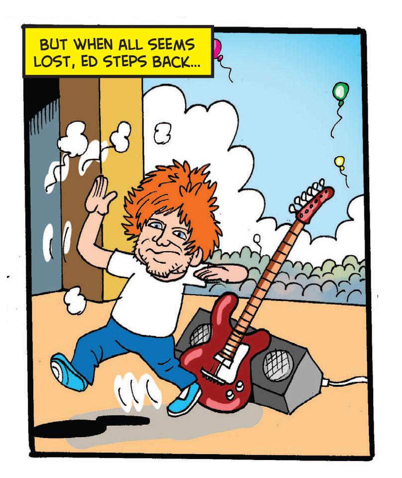 Ed Sheeran at BeanoFest, the Beano's Glastonbury