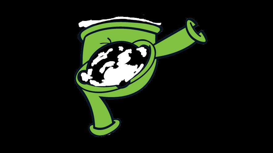 A green jumper