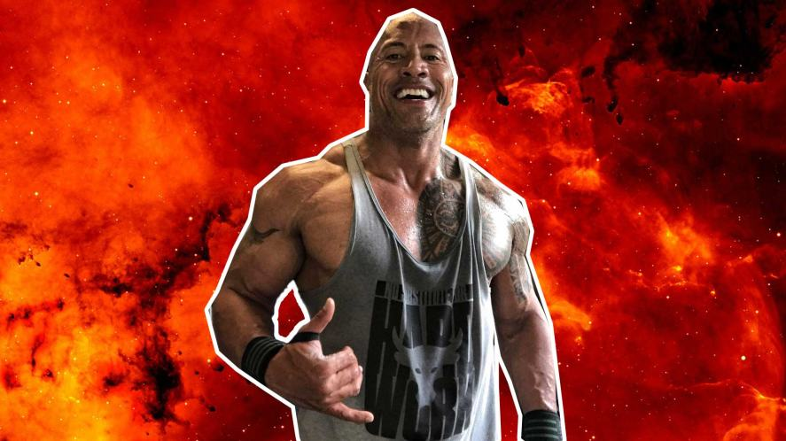 The Rock is pretty pleased but thinks you have it within you to do slightly better next time