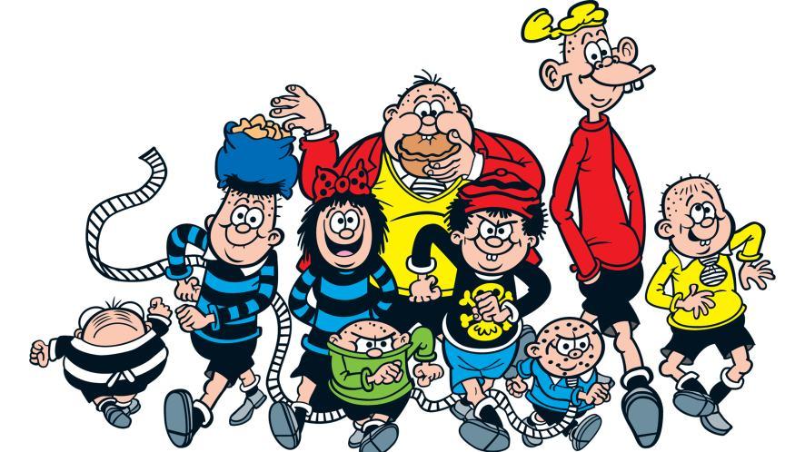 The Bash Street Kids from Beano