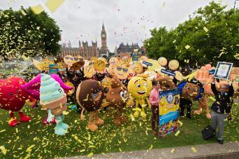 Guinness World Record emoji gathering