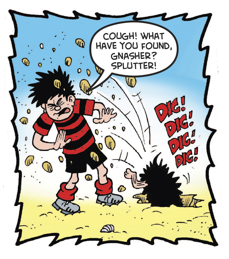 Dennis the Menace from Beano