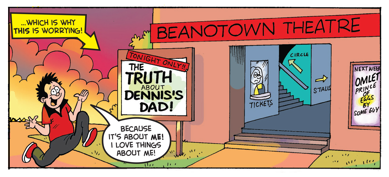 Dennis the Menace's Dad discovers he was once a Menace too!
