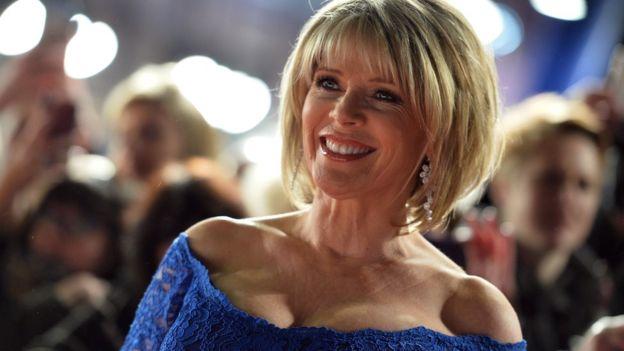 Morning TV host Ruth Langsford