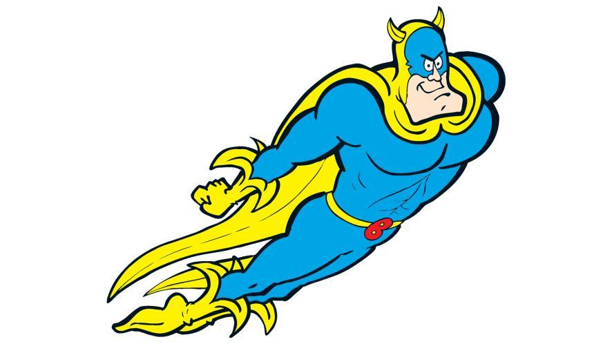 Bananaman from Beano