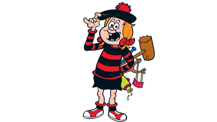 Minnie the Minx from Beano