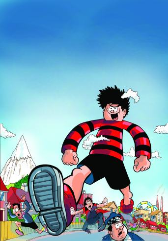 Attack of the 50ft Menace - Dennis the Menace from Beano