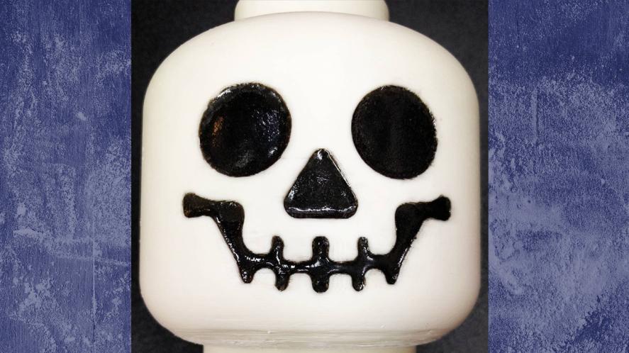 LEGO skull or cake?