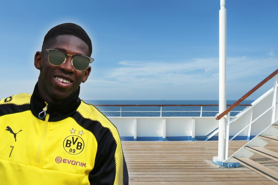 Dembele on a Cruise Ship