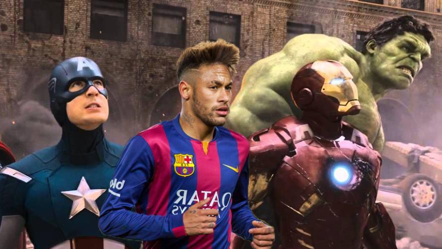 Neymar in the Avengers