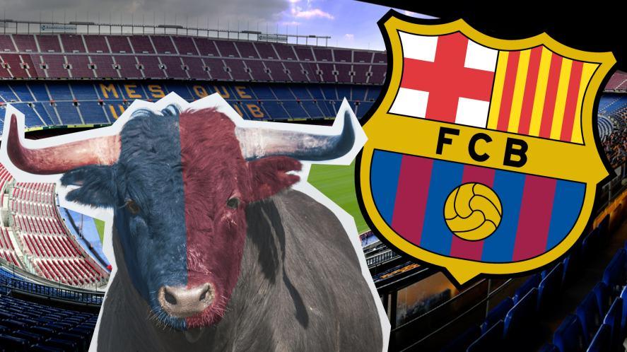 Dios Mio! It's the Big Bull of Barcelona!