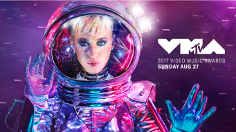 Katy Perry hosts the MTV VMA's