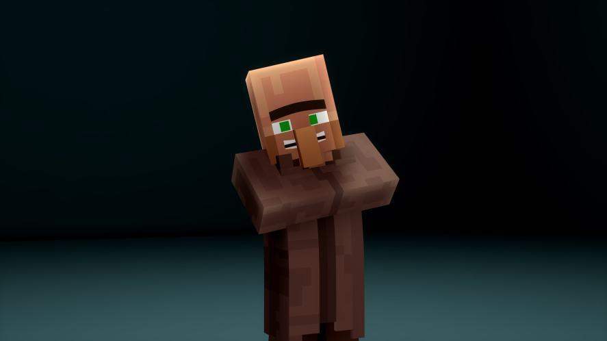 Minecraft villagers