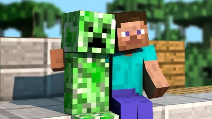 Friends with the creeper