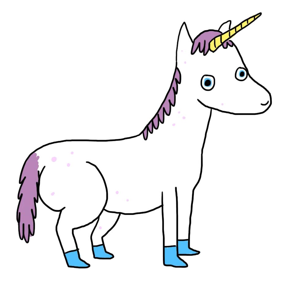 unicorn gets their spots