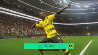 Usain Bolt in Pro Evo 2018