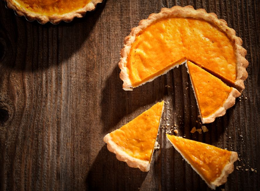 Pumpkin pie - delicious dessert or a mouth-watering main course?