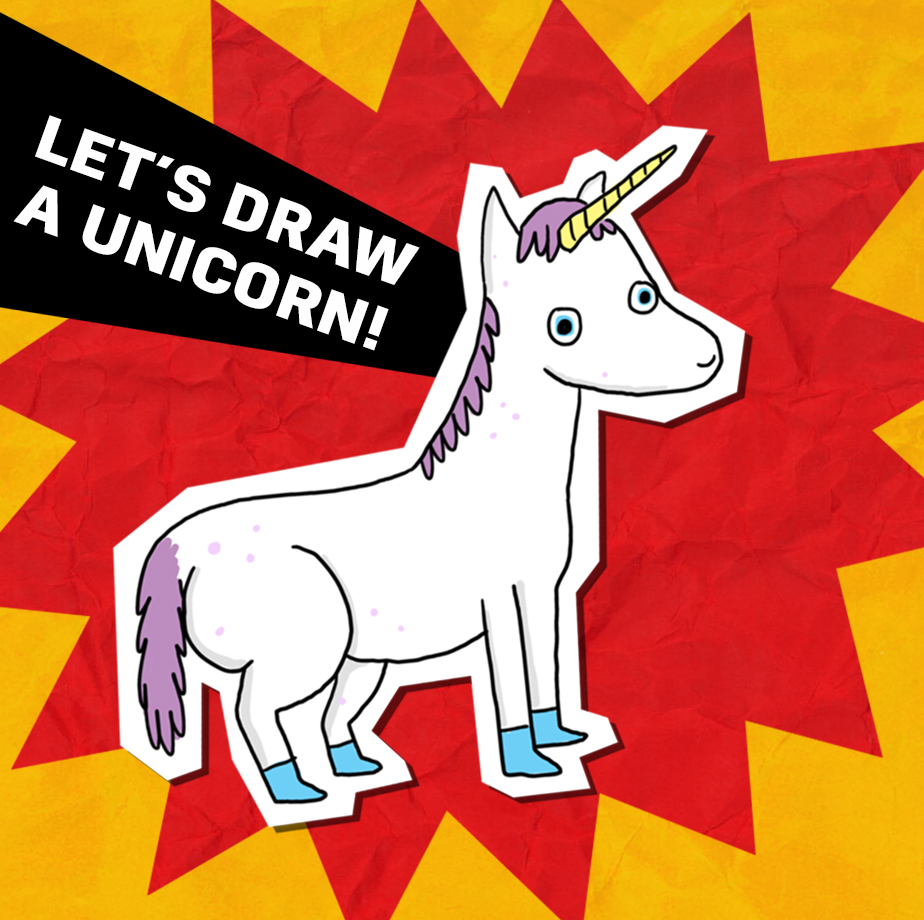 let's draw a unicorn!